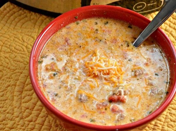 Crock Pot Low-Carb Taco Soup