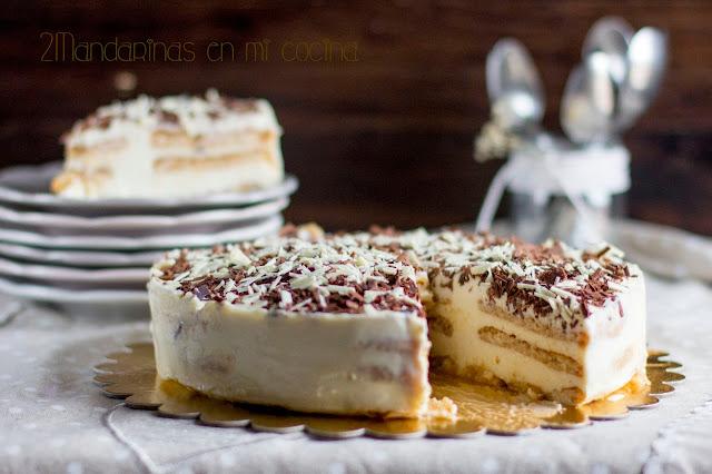 como preparar tarta de crema de limón con galletas hojaldradas de forma facil