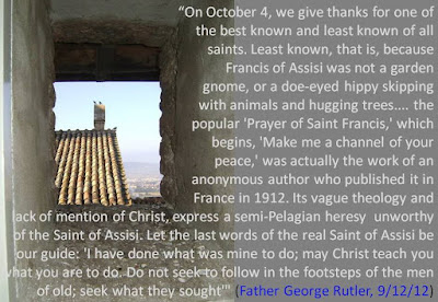http://www.sanctepater.com/2012/09/father-rutler-saint-francis-of-assisi.html