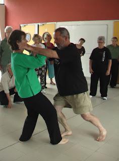 Club de Tai Chi Chuan de Versailles, entraînements de tuishou