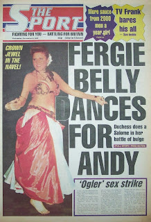 Old Daily Sport newspaper front page dated 9th November 1988