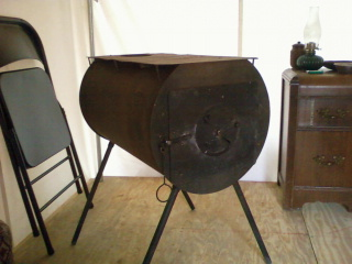 Tent Living: Installing the Wood Stove