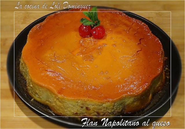 Flan Napolitano al queso