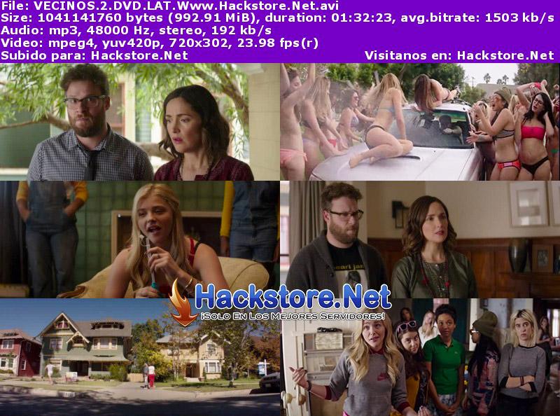 Capturas de Buenos Vecinos 2 (2016) DVDRip Latino
