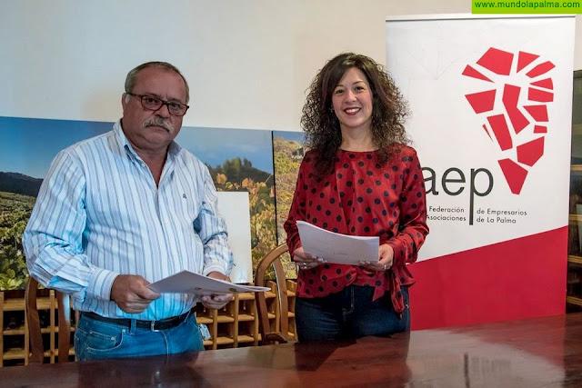 FAEP establece una alianza de promoción con los Consejos Reguladores del Vino y del Queso palmeroFAEP establece una alianza de promoción con los Consejos Reguladores del Vino y del Queso palmero