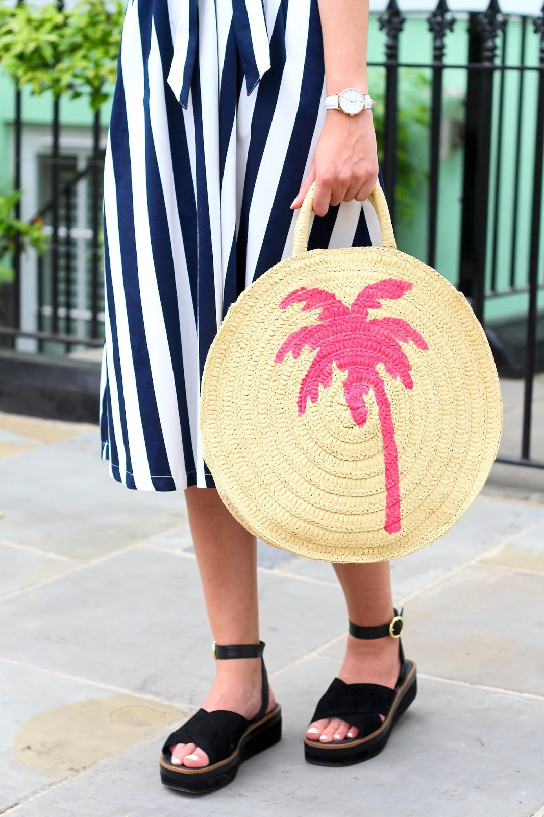 peexo summer accessories straw bag