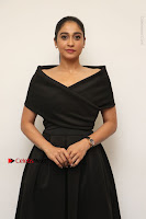 Actress Regina Candra Pos in Beautiful Black Short Dress at Saravanan Irukka Bayamaen Tamil Movie Press Meet  0026.jpg