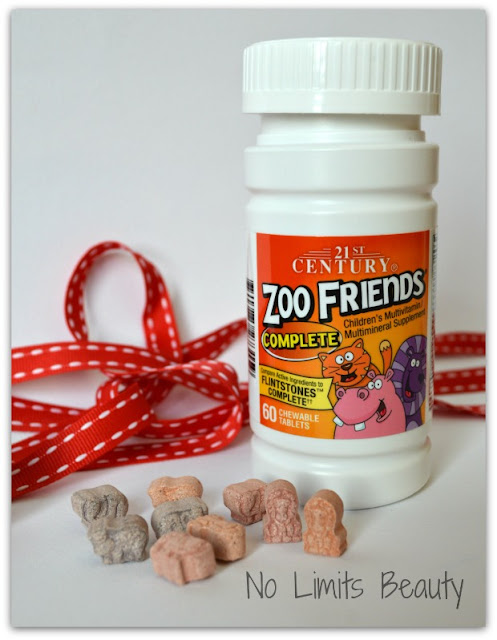 iHerb.com - 21st Century Health Care, Zoo Friends Complete (60 comprimidos masticables)