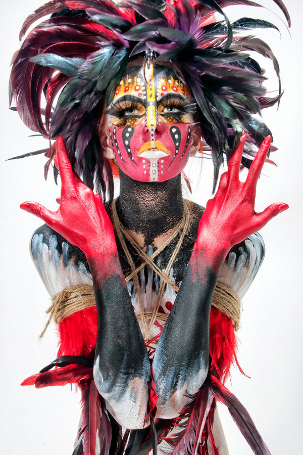 225f8f1c8 Chapter 50: The Art of Body Painting | History of Graphic Design