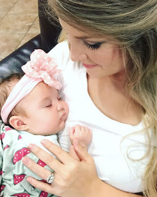 Erin Paine and Everly Hope Paine