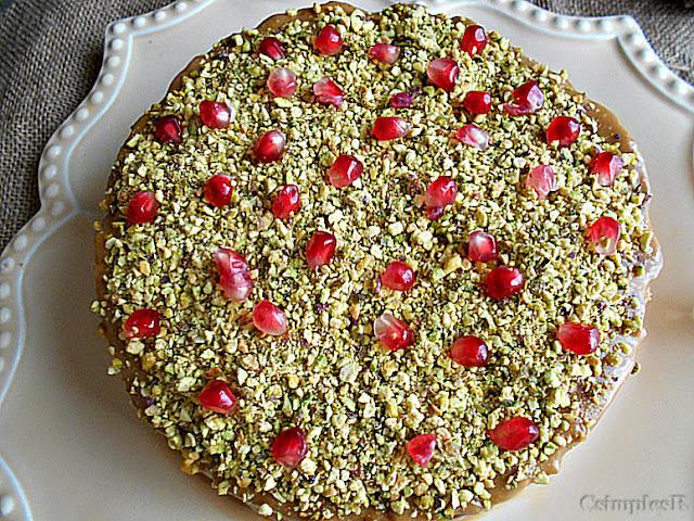 pistachio e bolo de bolocha