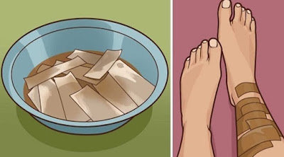 Absorb PAPER APPLE CIDER VINEGAR. At that point WRAP, YOUR BODY FOR A SUMMER TIP YOU NEED TO KNOW #Health #Remedies