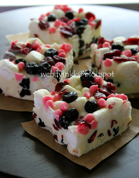 Table For 2 Or More Dried Berries Rocky Road With