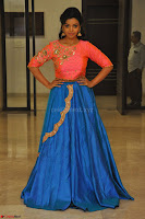Nithya Shetty in Orange Choli at Kalamandir Foundation 7th anniversary Celebrations ~  Actress Galleries 130.JPG