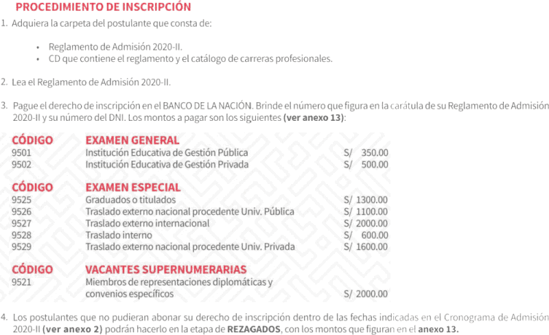 Nacion banco fotos examen Banco de