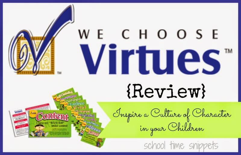 Inspire a Culture of Character in Your Children Using We Choose Virtues Character Curriculum