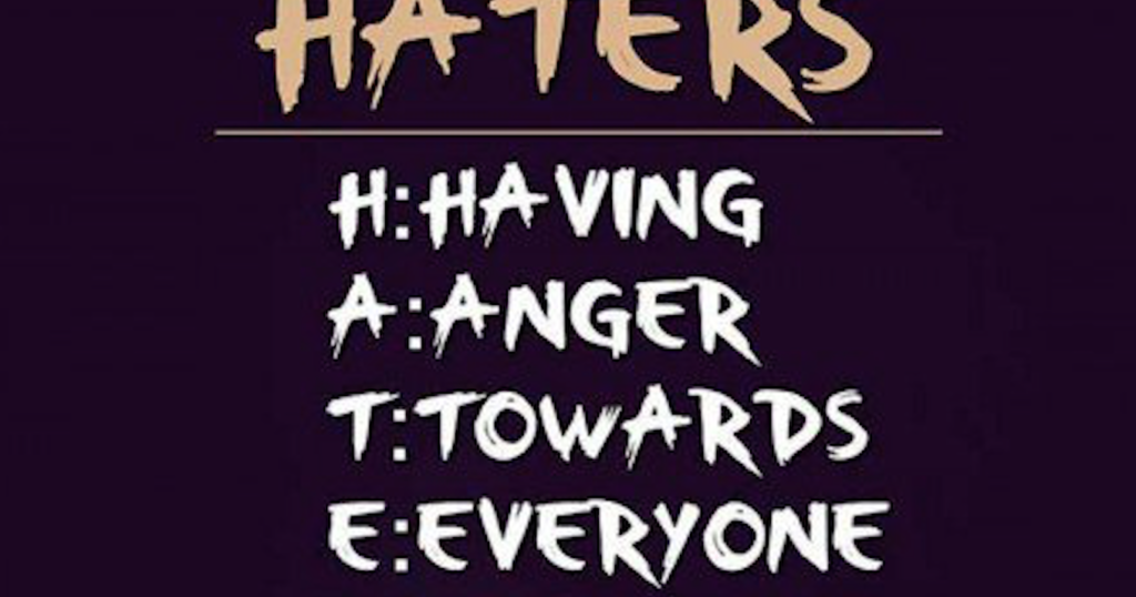 Haters Sayings and Quotes ~ Best Quotes and Sayings