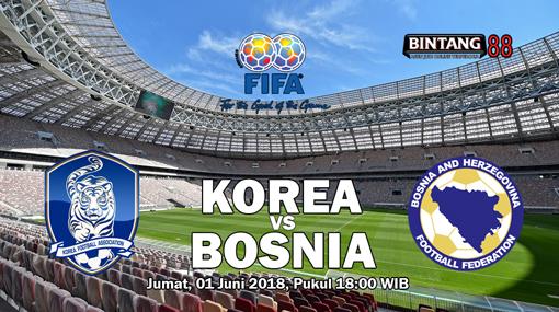 Prediksi Korea Republik vs Bosnia Herzegovina 1 Juni 2018