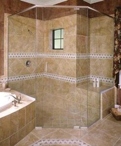 Shower Doors Installation By The Hayes Company