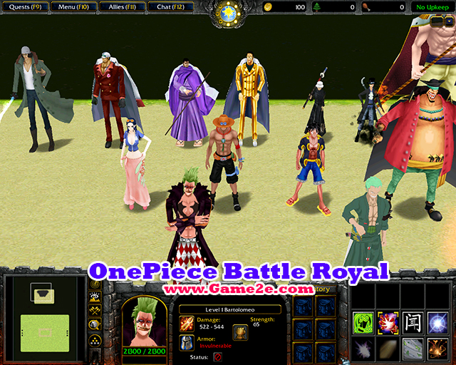 OnePiece Battle Royal V14 Map Download Game2f
