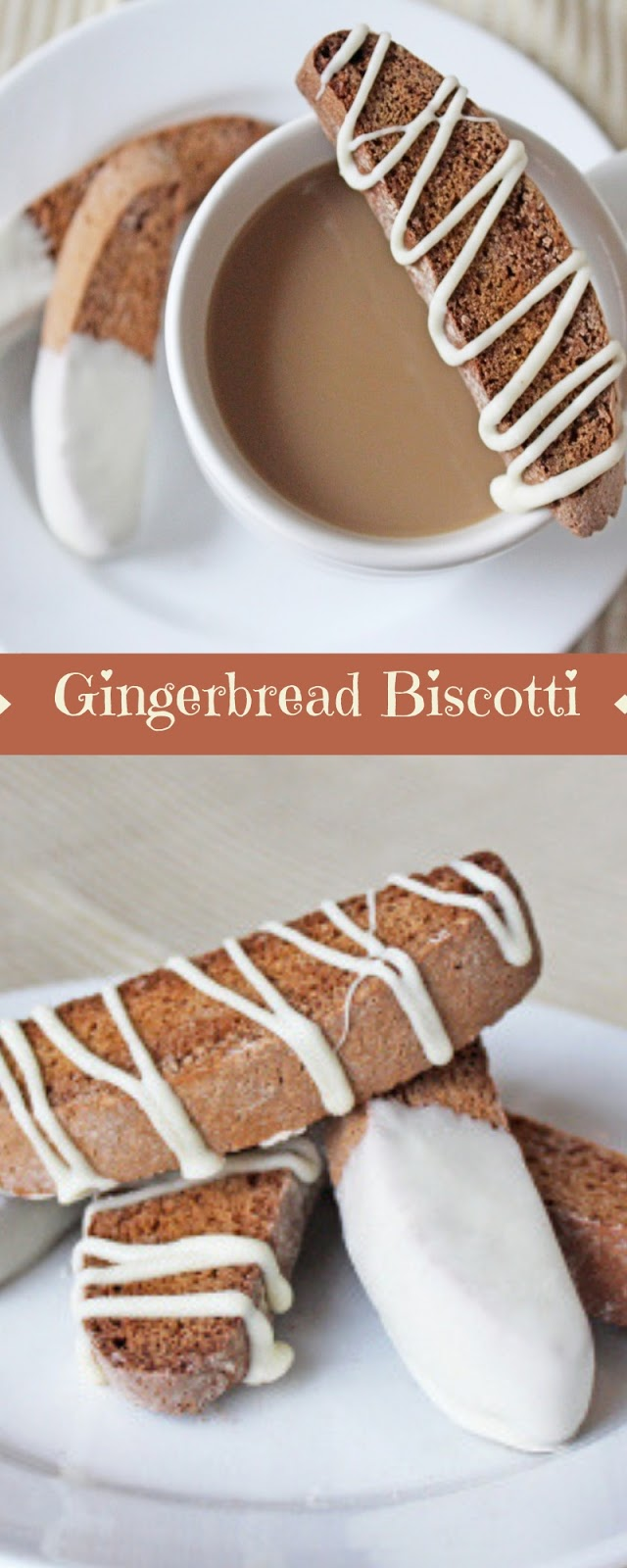 Gingerbread Biscotti, cookies