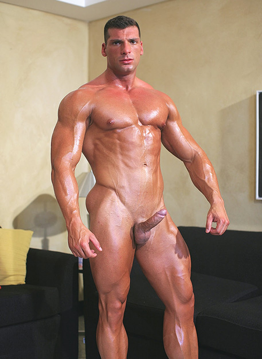 Think, Body building nude male come