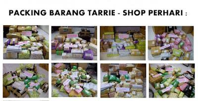 Packing Barang Kiriman Tarrie Shop