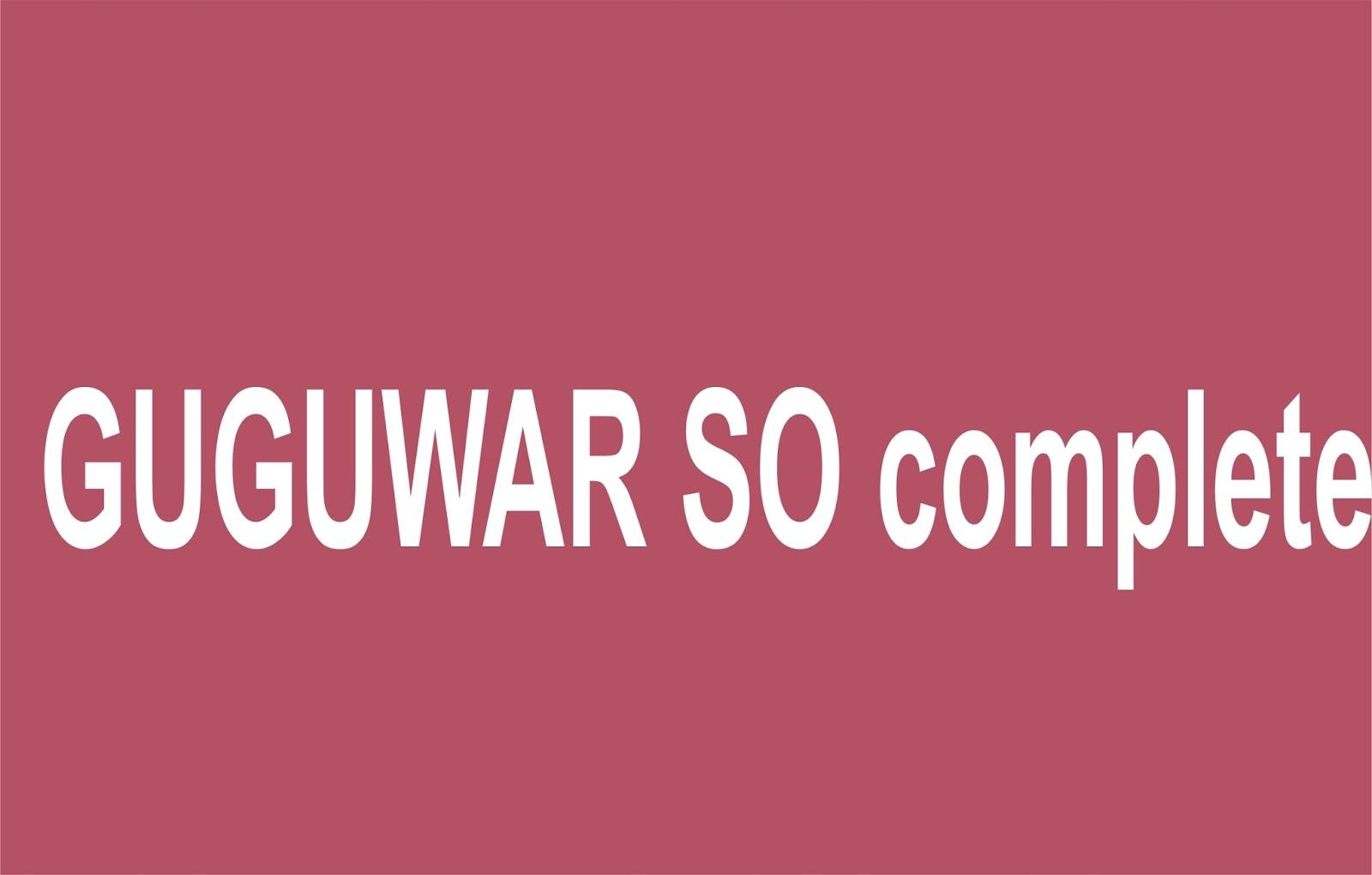 GUGUWAR SO complete - Gidan Novels | Hausa Novels