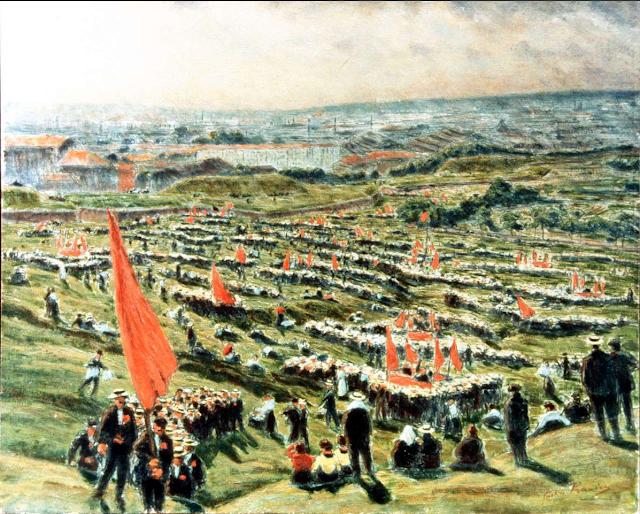25 mai 1913 sur la butte de Chapeau Rouge