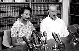 Mildred and Richard Loving, Loving v. Virginia