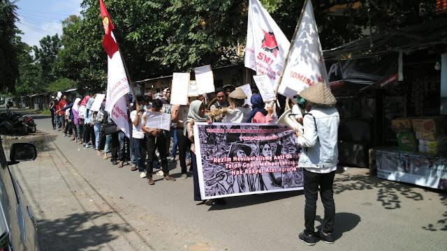 Hari Tani Nasional, KPR Gelar Aksi