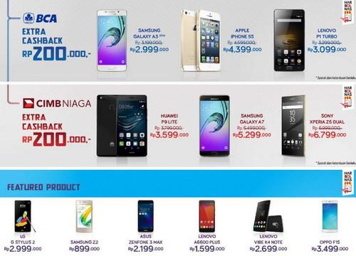Promo smartphone Akhir Tahun 2016 – 2017