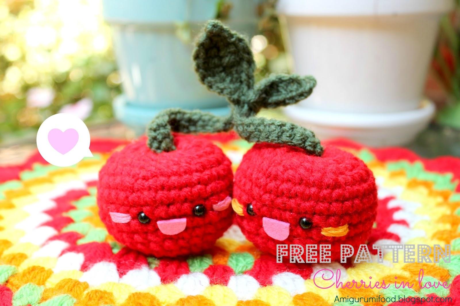 Free Amigurumi Food Patterns - Super Cute Kawaii!! | 1066x1600