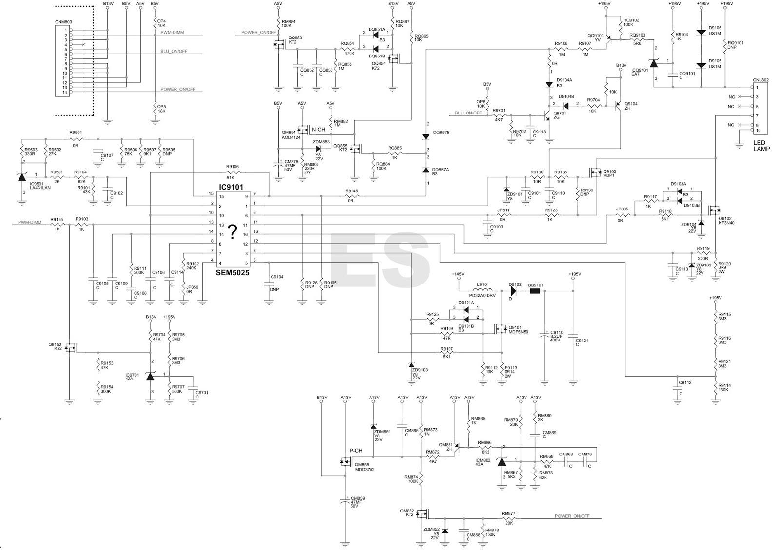 high power led driver circuit diagram vw golf mk1 indicator wiring electronic equipment repair centre january 2016