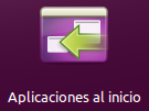 Aplicaciones al Inicio icono