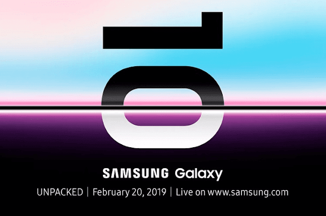 Samsung Galaxy S10 to launch on February 20