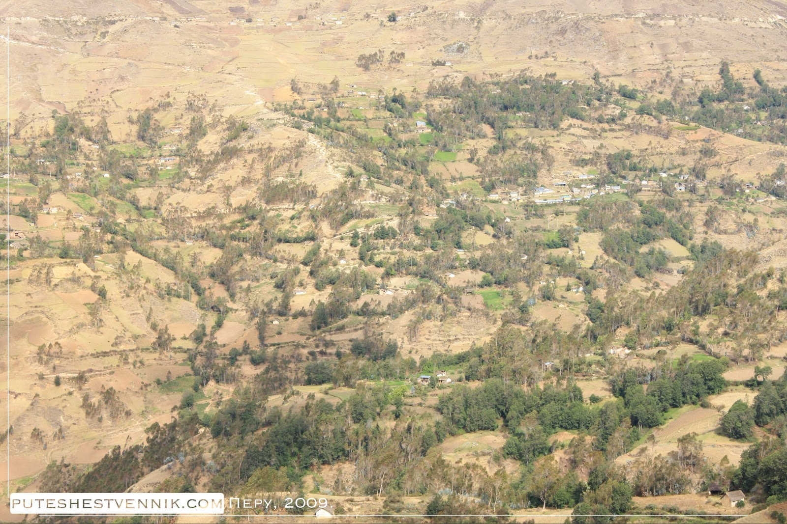 Сельский пейзаж в Перу