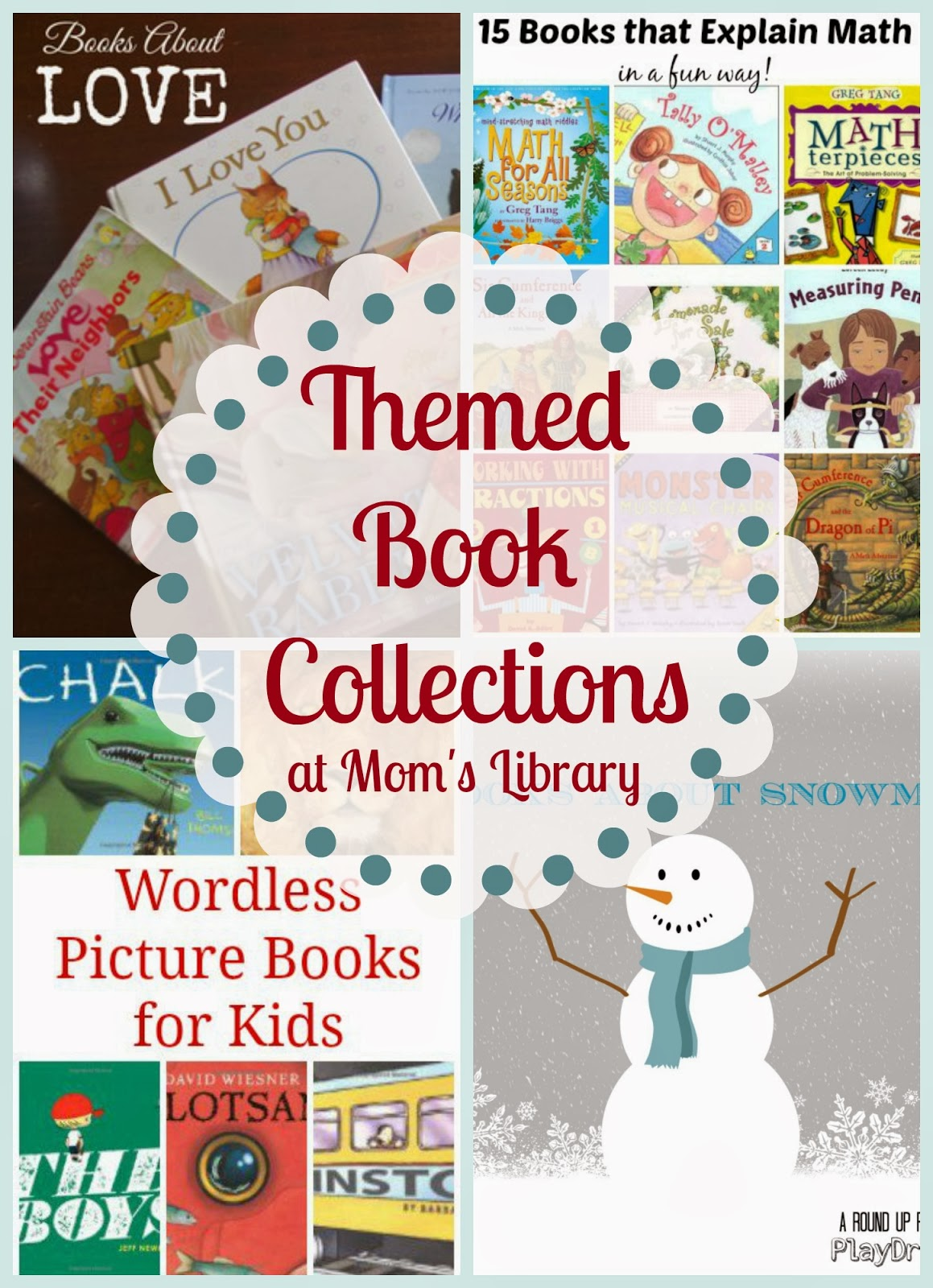 Themed Book Collections at Mom's Library