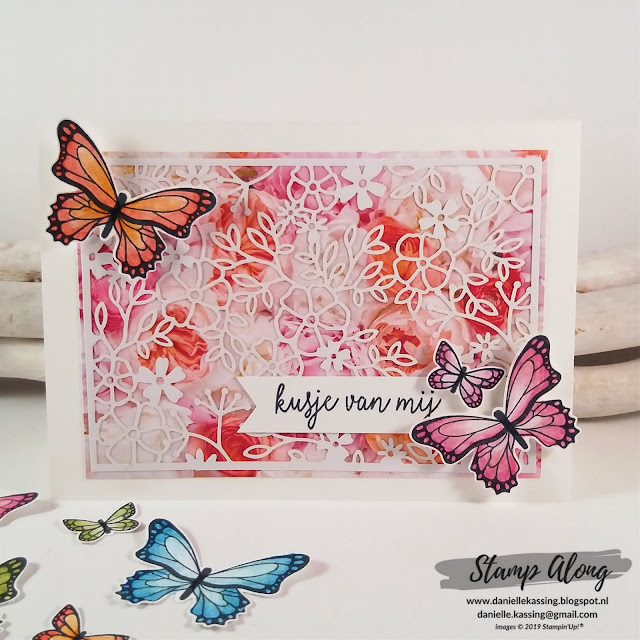 Stampin' Up! Vlinderdans