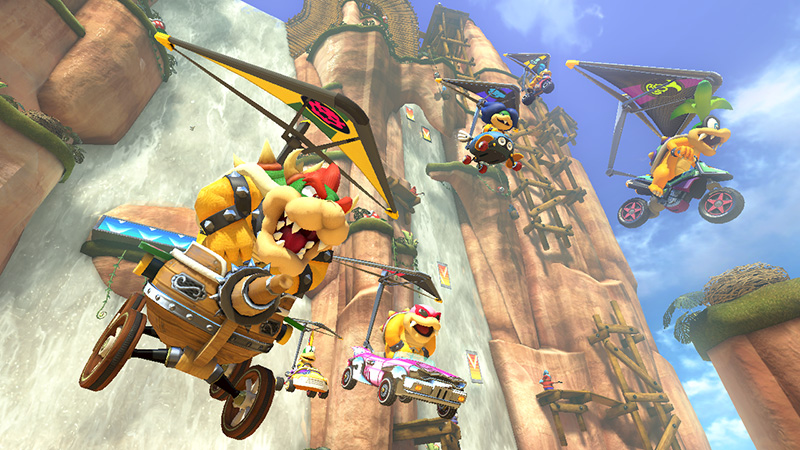 Leave Luck To Heaven: Mario Kart 8