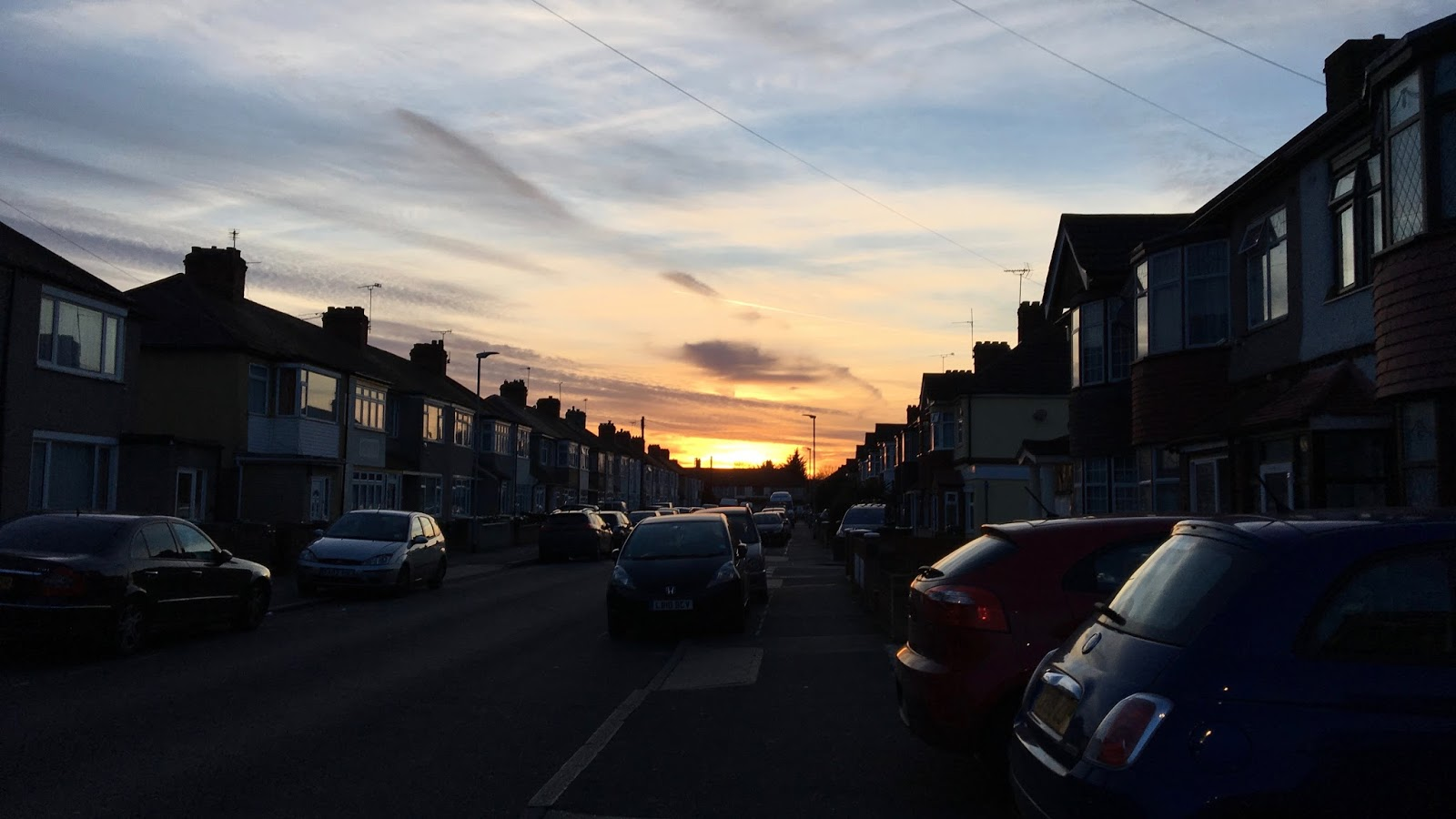 How To Find Positivity In 2017 Sunset In East London