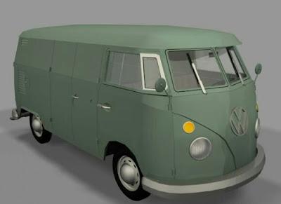Download 3D Model Car Van