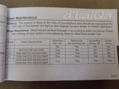 panduan pengguna arloji merk Casio (1)