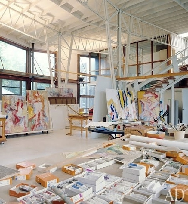 Workspaces of Famous Creative Types | Design Fixation