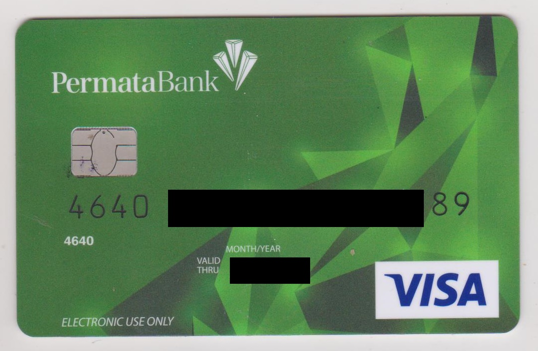 Blog Amirz Cara Memverifikasi Paypal Dengan Kartu Debit Atm Bank