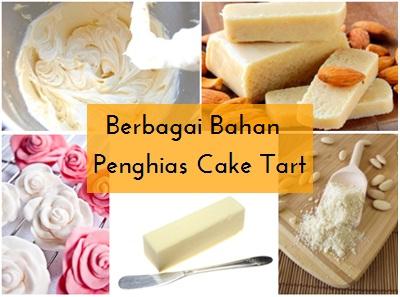 Berbagai Bahan Penghias Cake Tart