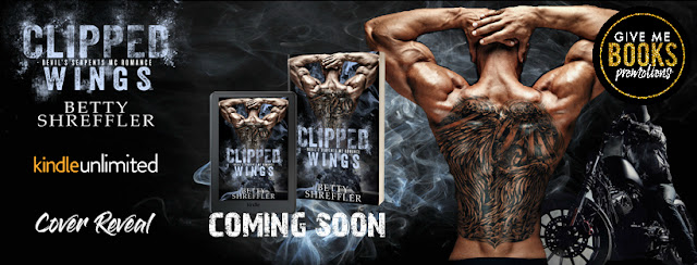 CLIPPED WINGS by Betty Shreffler @betty_shreffler @GiveMeBooksBlog #CoverReveal #TheUnratedBookshelf