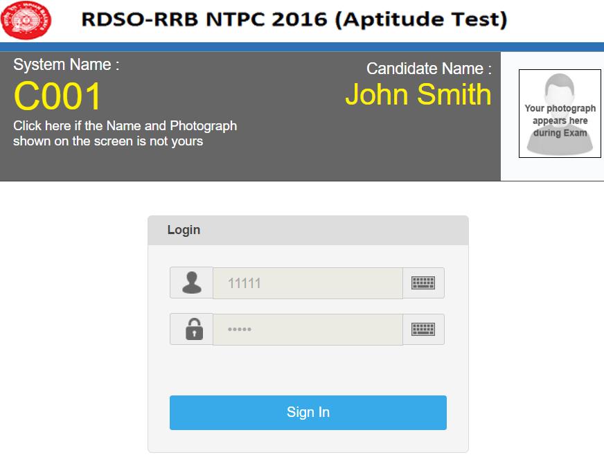 RRB NTPC Online Aptitude Test: Railway Psycho Test for ASM - W3i.iN