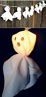 decorazione halloween fantasmini immagine