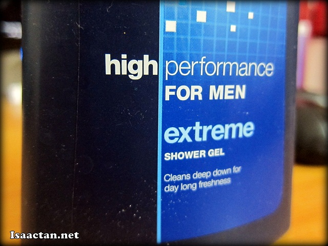 High Performance for Men - Extreme Shower Gel